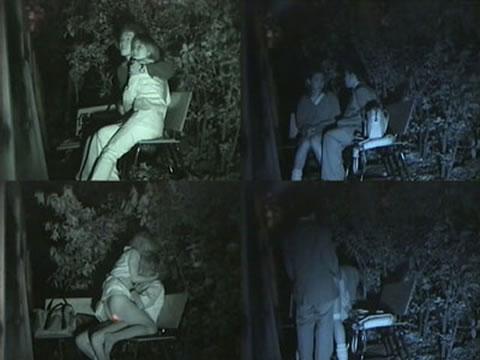 【盗撮画像】若いカップルの野外セックスが赤外線カメラで丸見えだわwww 32枚 No.29
