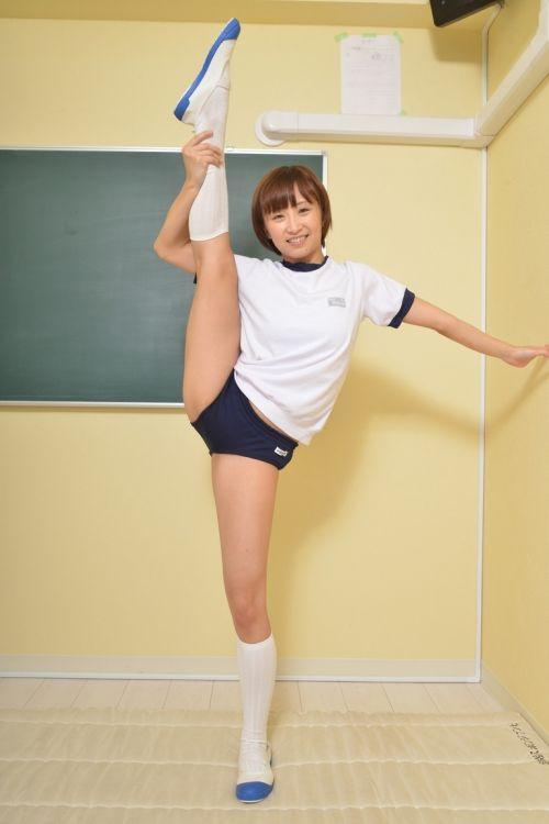 体操服でブルマを履いたJKをみて青春やイメクラを思い出すエロ画像 No.5