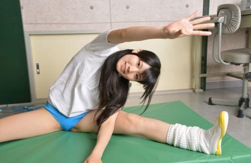 体操服でブルマを履いたJKをみて青春やイメクラを思い出すエロ画像 No.19