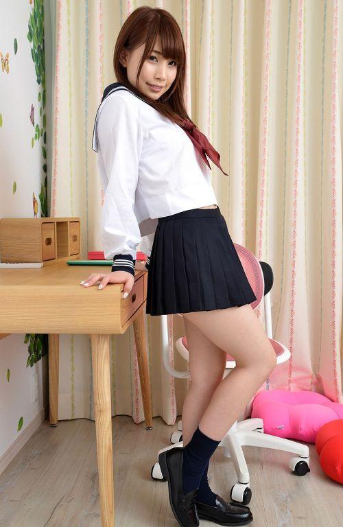 長谷川るい セーラー服の似合う美少女AV女優のエロ画像 298枚 No.244