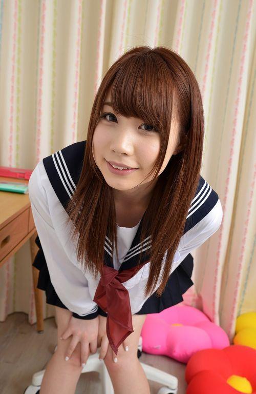 長谷川るい セーラー服の似合う美少女AV女優のエロ画像 298枚 No.249
