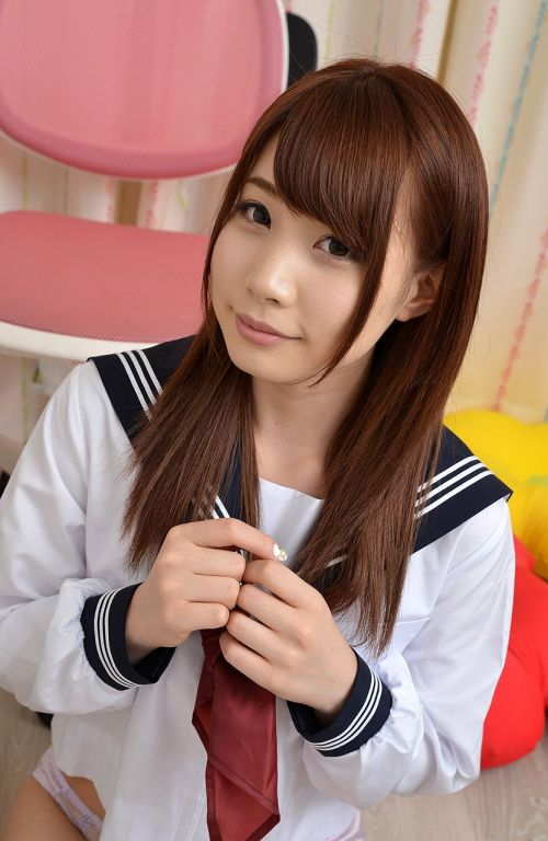 長谷川るい セーラー服の似合う美少女AV女優のエロ画像 298枚 No.272