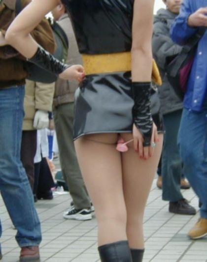 イベントコンパニオンとキャンペーンガールのセクシーなお尻を盗撮したエロ画像まとめ 38枚 No.14