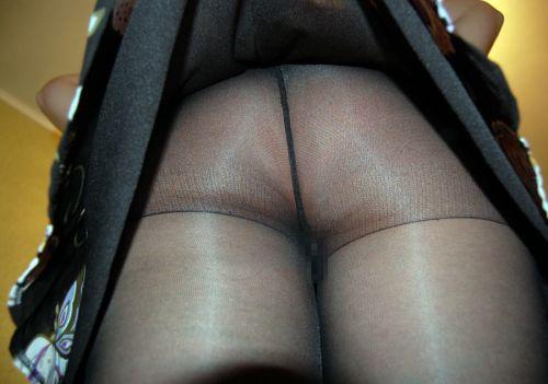 【激レア!】ノーパンストッキングな女性限定の逆さ撮りエロ画像 40枚 No.22