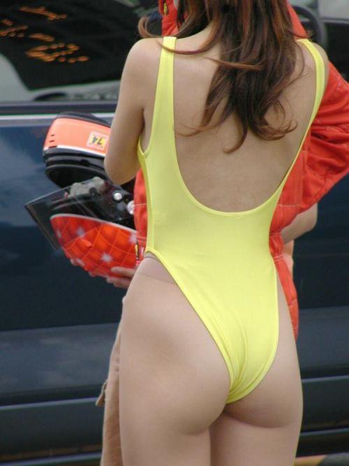 レースクィーンの谷間胸チラやハイレグ水着のお尻を盗撮したエロ画像 35枚 No.27