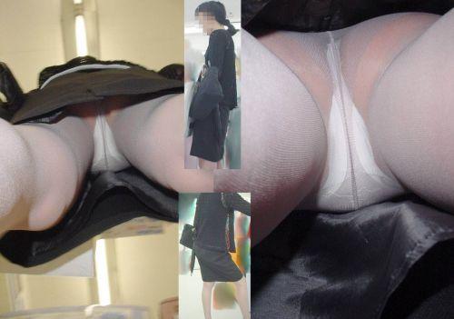 ストッキングにTバックパンティを履いたお姉さん限定の逆さ撮り盗撮画像 34枚 No.22