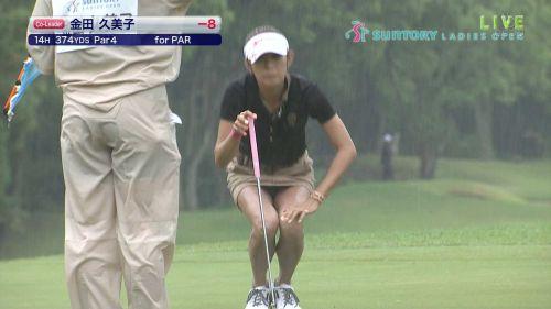 【エロ画像】女子ゴルフのTV中継のハプニングパンチラが抜けるwwww 37枚 No.8
