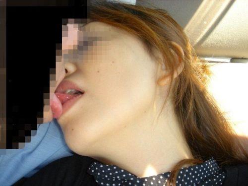 舌同士でベロベロ舐め合うベロチュー熟女に欲情しちゃうエロ画像 33枚 No.28