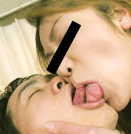 舌同士でベロベロ舐め合うベロチュー熟女に欲情しちゃうエロ画像 33枚 No.31