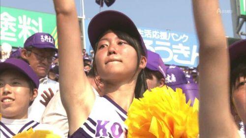 甲子園でJKチアリーダーのワキチラ限定で盗撮したエロ画像 45枚 No.9