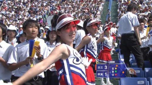 甲子園でJKチアリーダーのワキチラ限定で盗撮したエロ画像 45枚 No.22