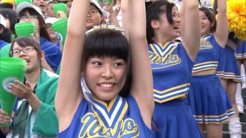甲子園でJKチアリーダーのワキチラ限定で盗撮したエロ画像 45枚 No.23