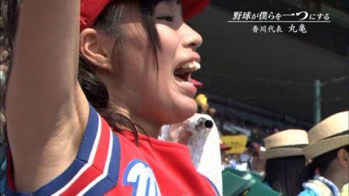 甲子園でJKチアリーダーのワキチラ限定で盗撮したエロ画像 45枚 No.26