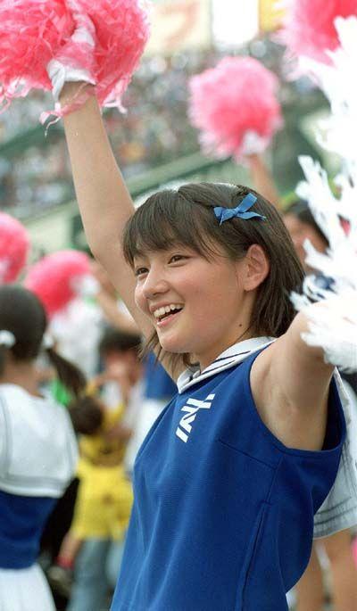 甲子園でJKチアリーダーのワキチラ限定で盗撮したエロ画像 45枚 No.29