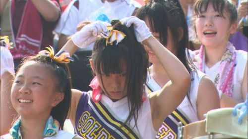 甲子園でJKチアリーダーのワキチラ限定で盗撮したエロ画像 45枚 No.33