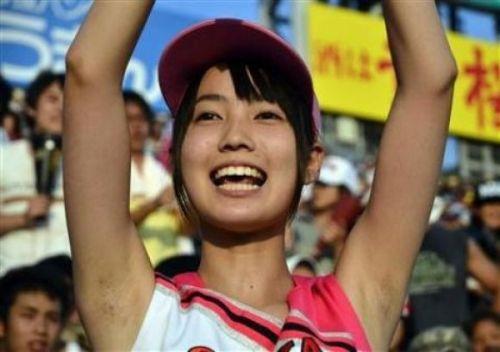 甲子園でJKチアリーダーのワキチラ限定で盗撮したエロ画像 45枚 No.34