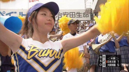 甲子園でJKチアリーダーのワキチラ限定で盗撮したエロ画像 45枚 No.35