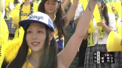 甲子園でJKチアリーダーのワキチラ限定で盗撮したエロ画像 45枚 No.41