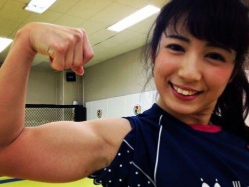 才木玲佳(さいきれいか) 可愛いマッチョアイドルの筋肉が凄すぎwww 78枚 No.1