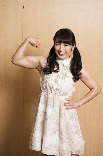 才木玲佳(さいきれいか) 可愛いマッチョアイドルの筋肉が凄すぎwww 78枚 No.2