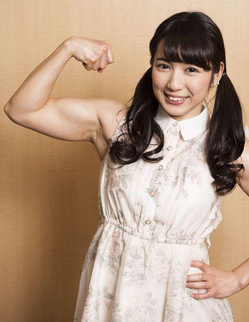 才木玲佳(さいきれいか) 可愛いマッチョアイドルの筋肉が凄すぎwww 78枚 No.3