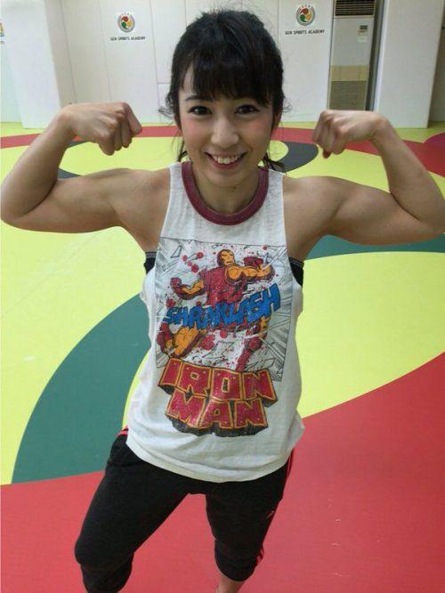 才木玲佳(さいきれいか) 可愛いマッチョアイドルの筋肉が凄すぎwww 78枚 No.14