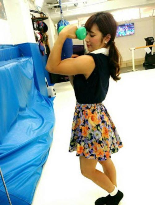 才木玲佳(さいきれいか) 可愛いマッチョアイドルの筋肉が凄すぎwww 78枚 No.28