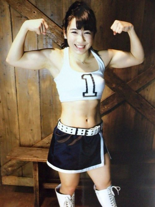 才木玲佳(さいきれいか) 可愛いマッチョアイドルの筋肉が凄すぎwww 78枚 No.32