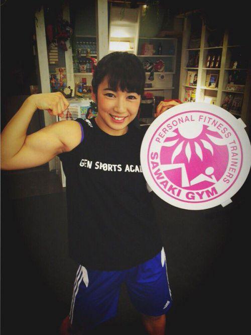 才木玲佳(さいきれいか) 可愛いマッチョアイドルの筋肉が凄すぎwww 78枚 No.42
