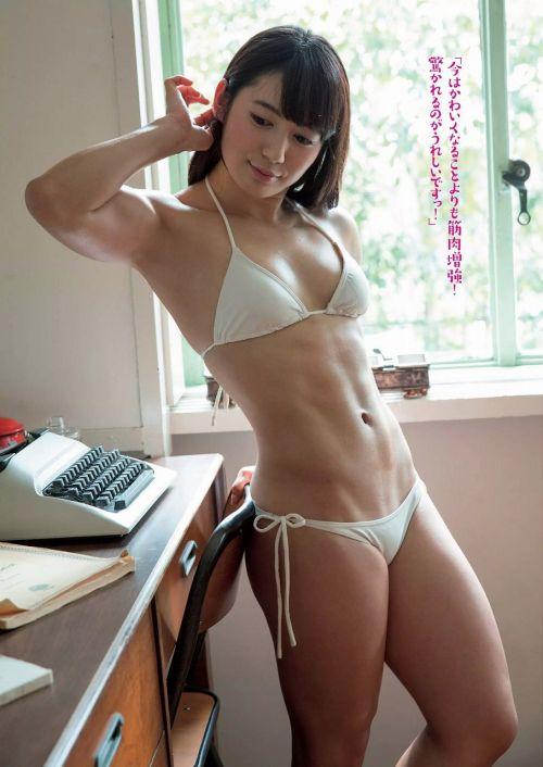 才木玲佳(さいきれいか) 可愛いマッチョアイドルの筋肉が凄すぎwww 78枚 No.68