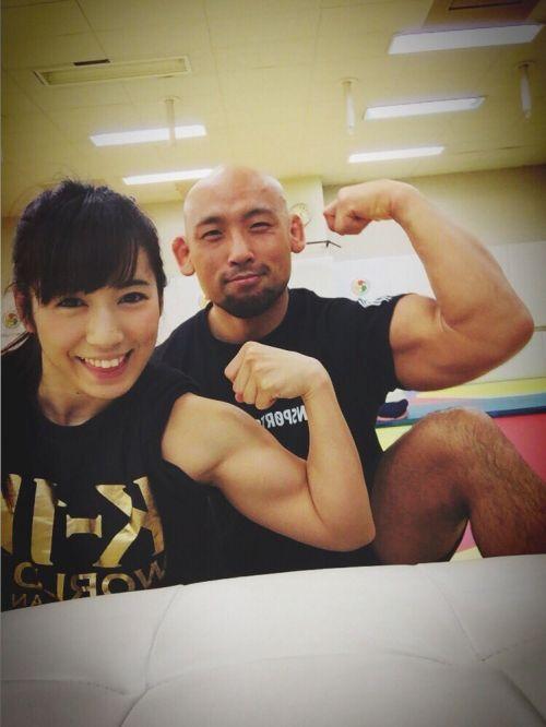 才木玲佳(さいきれいか) 可愛いマッチョアイドルの筋肉が凄すぎwww 78枚 No.70