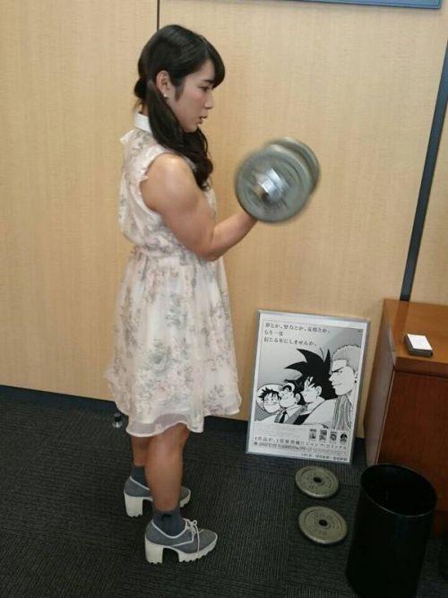 才木玲佳(さいきれいか) 可愛いマッチョアイドルの筋肉が凄すぎwww 78枚 No.73