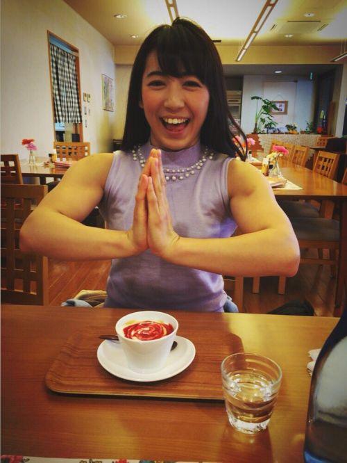 才木玲佳(さいきれいか) 可愛いマッチョアイドルの筋肉が凄すぎwww 78枚 No.78