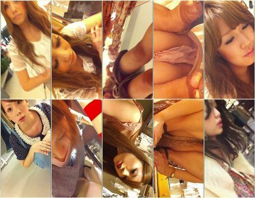 激カワなショップ店員さんのパンチラを逆さ撮りした盗撮画像 39枚 No.4
