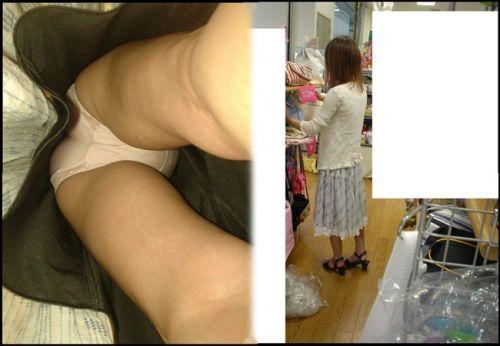 激カワなショップ店員さんのパンチラを逆さ撮りした盗撮画像 39枚 No.10