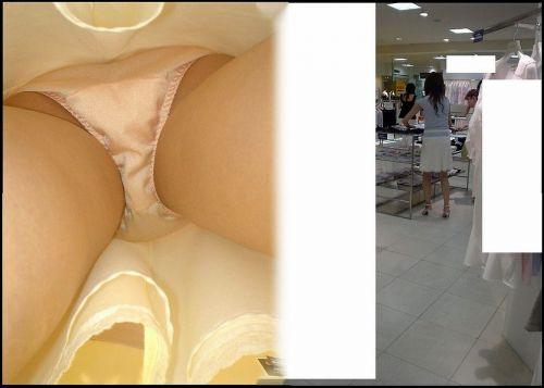 激カワなショップ店員さんのパンチラを逆さ撮りした盗撮画像 39枚 No.13