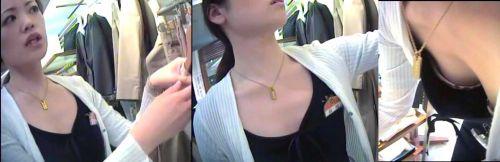 笑顏で可愛いショップ店員さんの胸チラ・乳首を盗撮したエロ画像 39枚 No.14