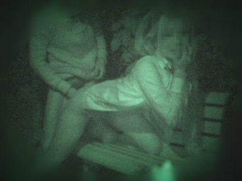 【画像】カップルの野外後背位セックスを赤外線カメラで盗撮したったwww 33枚 No.1