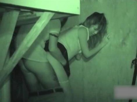 【画像】カップルの野外後背位セックスを赤外線カメラで盗撮したったwww 33枚 No.2