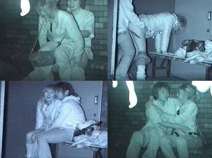 【画像】カップルの野外後背位セックスを赤外線カメラで盗撮したったwww 33枚 No.5
