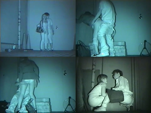 【画像】カップルの野外後背位セックスを赤外線カメラで盗撮したったwww 33枚 No.10