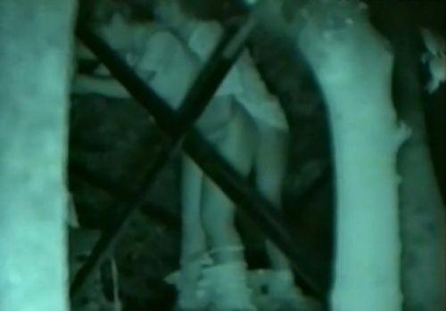 【画像】カップルの野外後背位セックスを赤外線カメラで盗撮したったwww 33枚 No.16