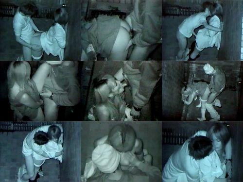 【画像】カップルの野外後背位セックスを赤外線カメラで盗撮したったwww 33枚 No.23