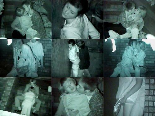 【画像】カップルの野外後背位セックスを赤外線カメラで盗撮したったwww 33枚 No.24
