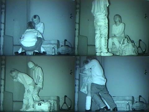 【画像】カップルの野外後背位セックスを赤外線カメラで盗撮したったwww 33枚 No.25