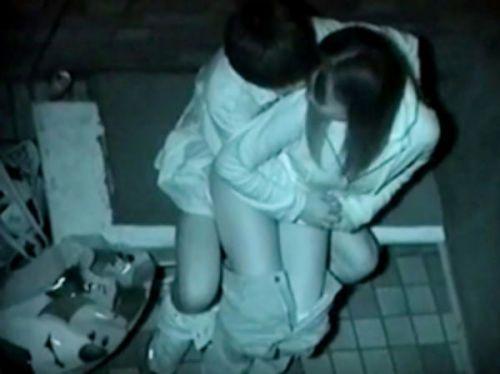 【画像】カップルの野外後背位セックスを赤外線カメラで盗撮したったwww 33枚 No.27