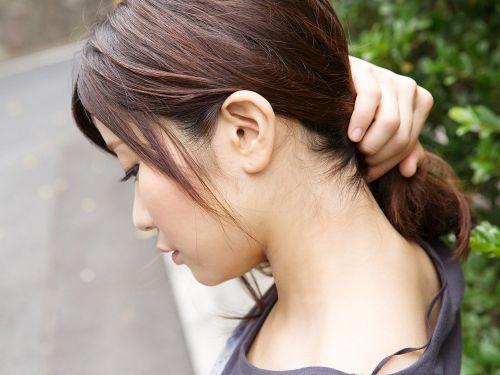 【エロ画像】美女のうなじを見て一目惚れしちゃうことってあるよな! 41枚 No.1