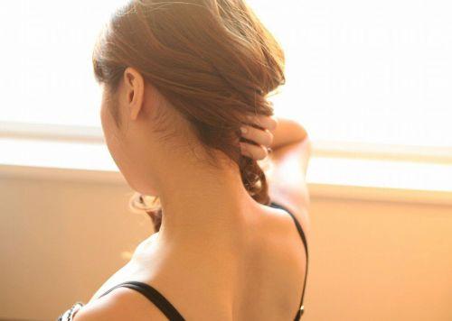 【エロ画像】美女のうなじを見て一目惚れしちゃうことってあるよな! 41枚 No.12