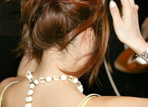 【エロ画像】美女のうなじを見て一目惚れしちゃうことってあるよな! 41枚 No.22