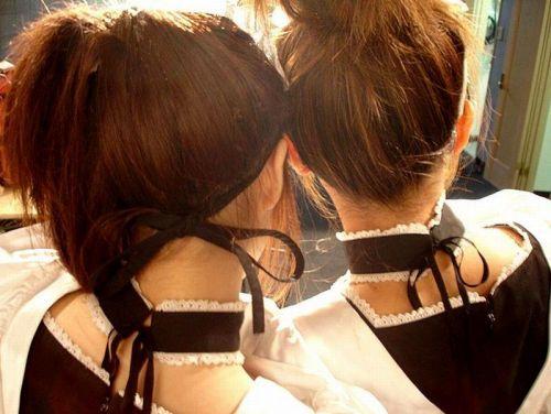 【エロ画像】美女のうなじを見て一目惚れしちゃうことってあるよな! 41枚 No.23